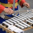 Постер, плакат: Percussionist in a military band
