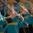 Kazakhstan military band — Stock Photo #52364145