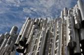 Jean Sibelius monument, Helsinki, Finland — Stock Photo