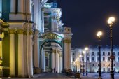 Hermitage, St.Petersburg, Russia — Stock Photo