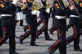 Army brass band — Stock Photo