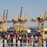 Sea trading port — Stock Photo #52802659
