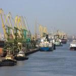 Sea trading port — Stock Photo #52802661