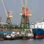 Sea trading port — Stock Photo #52802665