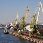 Sea trading port — Stock Photo #52802809