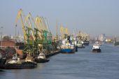 海上贸易港口 — 图库照片