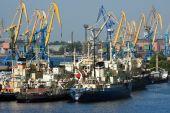 Meer-Handelshafen — Stockfoto