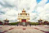 Golden Abode of Buddha Shakyamuni — Stock Photo