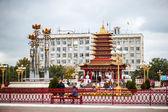 Buddhist Pagoda Seven Days — Stock Photo