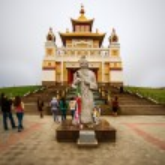 Постер, плакат: Golden Abode of Buddha Shakyamuni