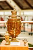 Samovar - prize of annual chess tournament — Stock Photo