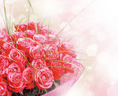 Art Design with roses — Stock Photo