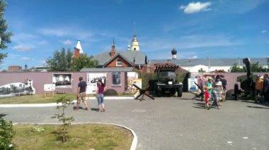 Main local lore museum of Kolomna Kremlinin — Vídeo de stock