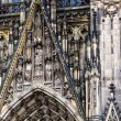 The cathedral of Cologne. Detail from facade — Stock Photo #52550909