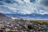 Ladakh in Indian Himalayas, Himachal Pradesh, India  — Stock Photo