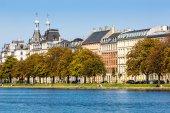 Sortedams Soe in Copenhagen, Denmark — Stock Photo