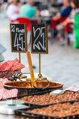 Traditional street food in Copenhagen, Denmark  — Stock Photo