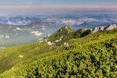 Montagnes de montagnes landscape.tatra, pologne. — Photo