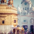 Sikh gurdwara Golden Temple (Harmandir Sahib). Amritsar, Punjab, India — Stockfoto #54288497