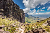 The view from the plateau of Roraima on the Grand Sabana - Venezuela, Latin America — Stock Photo