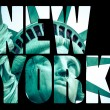 The Statue of Liberty at New York City — Stock Photo #56571061