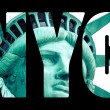 The Statue of Liberty at New York City — Stock Photo #56571111
