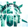 The Statue of Liberty at New York City — Stock Photo #56571143