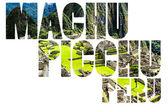 мачу-пикчу, древний город инков в андах перу — Стоковое фото