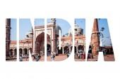 Jama Masjid Mosque, old Delhi, India.  — Stock Photo