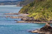 Landscape from Russell near Paihia, Bay of Islands, New Zealand — Stock Photo