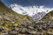 View of Mt Cook National Park, New Zealand. — Stock Photo