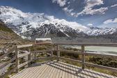 Kea Point, New Zealand  — Stock Photo
