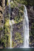 Milford sound. New Zealand fiordland  — Stock Photo
