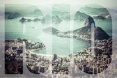 Word Rio de Janeiro, Brazil.  — Zdjęcie stockowe