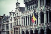 Grand Place in Brussels Belgium — Foto de Stock