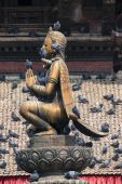 Patan Durbar Square, Kathmandu, Nepal. — Stockfoto