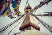 Boudhanath è uno stupa buddista a Kathmandu, Nepal. — Foto Stock