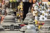 Souvenirs in street shop at Durbar Square in Kathmandu, Nepal. — Stock Photo