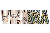 Word VIENNA over traditional symbols. — Stock Photo
