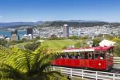 Wellington, New Zealand - November 18: View of the Wellington Ca — Stock Photo