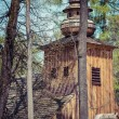 ZAKOPANE, POLAND - MAY 11, 2015: Old Church of Our Lady of Czest — Stock Photo #72839417