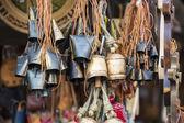 Metal bells from Zakopane — Stock Photo