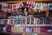Traditionelle polnische Leder Mountain boots für Kinder namens ' k — Stockfoto