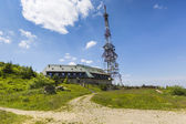 Transmiter on Skrzyczne mountain in Szczyrk, Poland — Stock Photo