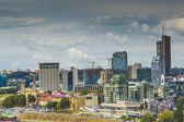 Cidade de Vilnius, parte de negócios da cidade, Lituânia. — Fotografia Stock