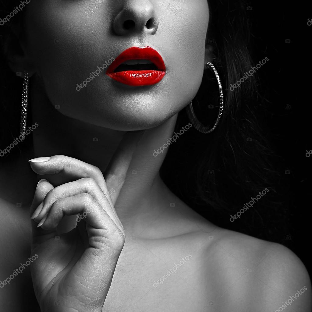Красивые черно белые фотографии женщин