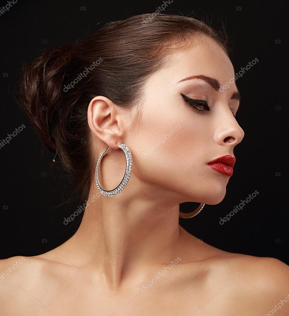 Фото красивых женских профилей 21 фотография