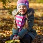 Little girl in park. — Stock Photo #56081621