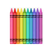 Color Crayons — Stock Photo