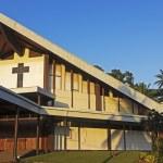 Постер, плакат: Catholic Cathedral in Port Vila Vanuatu